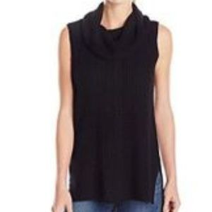 Two by Vince Camuto Sleeveless Turtleneck Tank